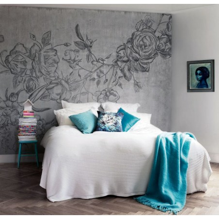 Murales Decorativos Modernos - Rocky Rose Grey
