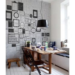 Murales Decorativos Modernos  - Express Myself Grey