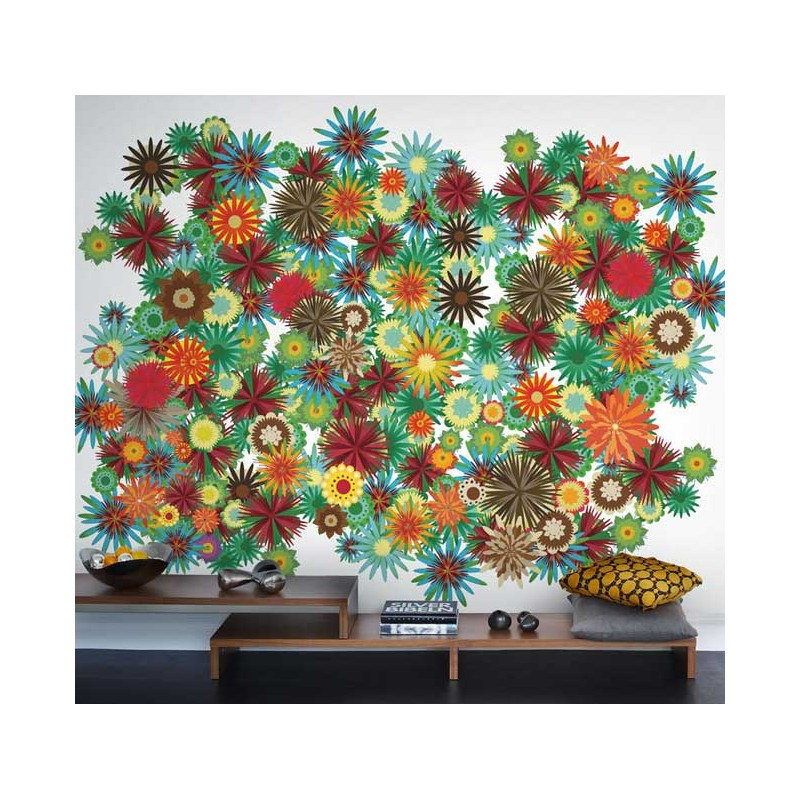 Murales Decorativos de Flores - Flower Power