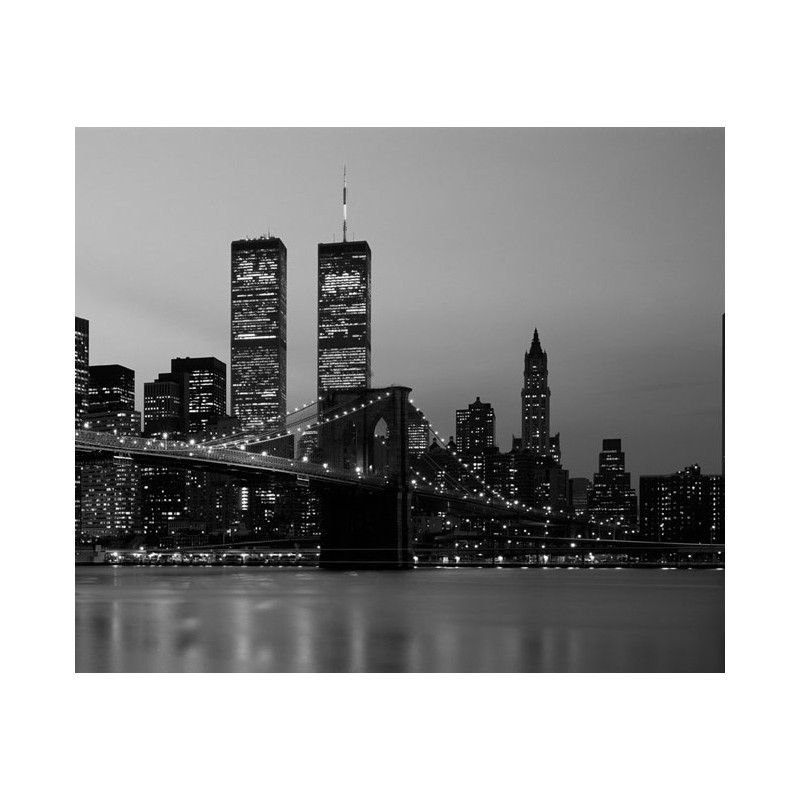 Fotomurales Decorativos - Ciudades - New York Skyline B&W II