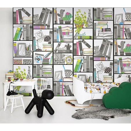 Murales de Pared Infantiles a Medida Book Look