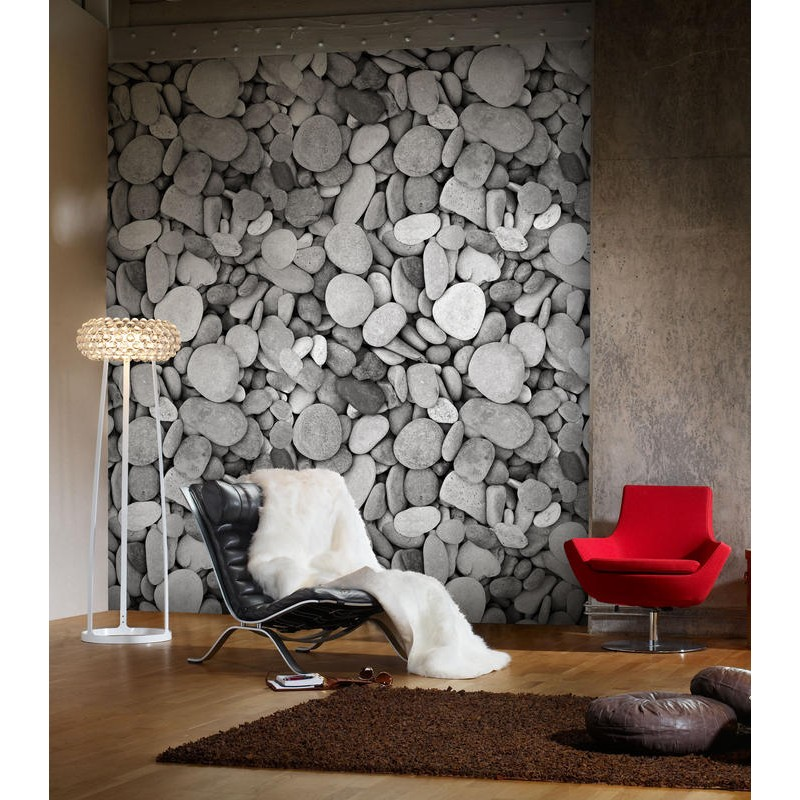 Pared de Piedra Gris