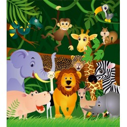 JUNGLE ANIMALS FTL1639