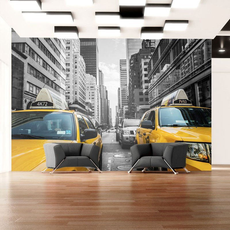 Fotomural New York taxi