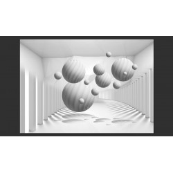 Fotomural Balls in White