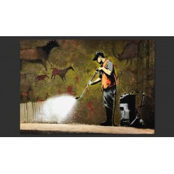 Banksy - Cave Painting