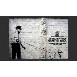 Banksy - Graffiti Area