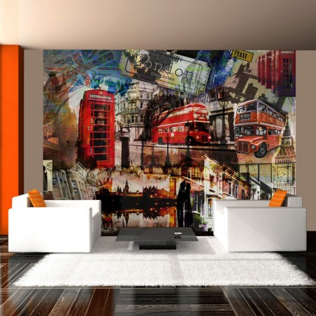 Londres, Collage Abstracto