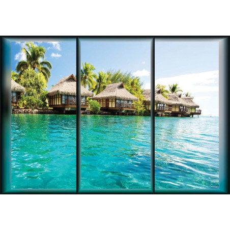 Island Caribbean Sea Tropical Cottages