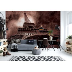 Paris Eiffel Tower Brown