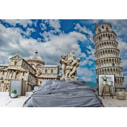 City Piazza Miracoli Leaning Tower Pisa