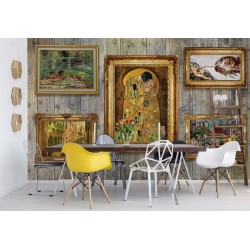 Paintings Art Luxury Wooden Wall
