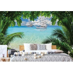 2598 - Tropical Beach Paradise Island
