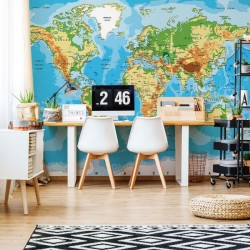 10250 - World Map Atlas
