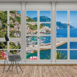 10644 - 3D Door View Italian Coast