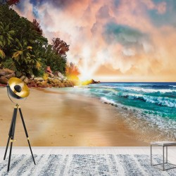 10876 - Tropical Beach Sunset
