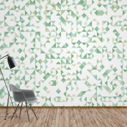 11213 - Modern Geometric Pattern Green