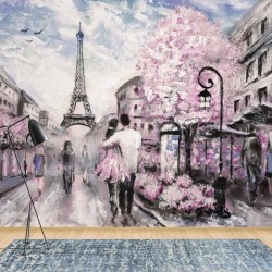 11470 - Paris Street Art Painting