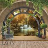 11553 - Forest Waterfall Archway View