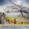 12022 - Cherry Blossom Mountain Path