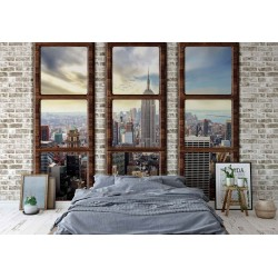 2832 - New York City Penthouse Window View
