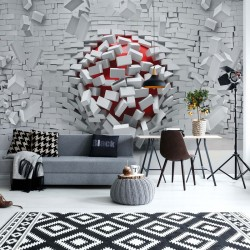 3005 - Adult Mural Wallpaper Modern 3D