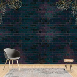3187 - Luxury Dark Brick Wall