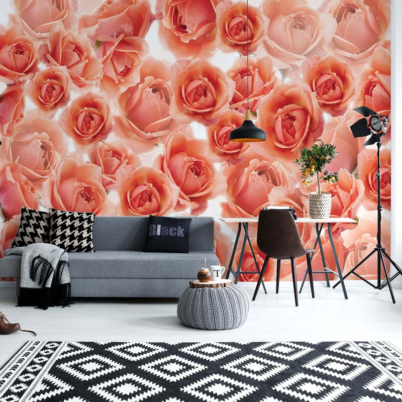 3321 - Pink Roses Flowers