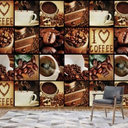 3459 - I Love Coffee Coffee Squares