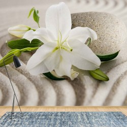 3522 - Lillies Flowers Zen Spa