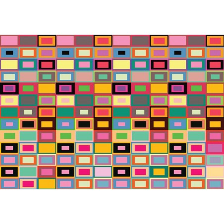 3672 - Colourful Abstract Pattern