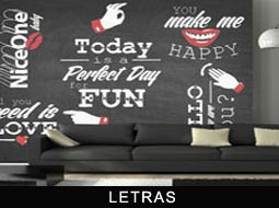 Fotomurales Frases Hechas y Letras